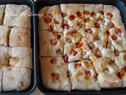 Pizza con impasto a lunga lievitazione