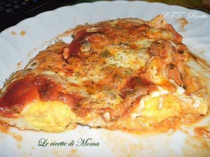 Pizza di uova