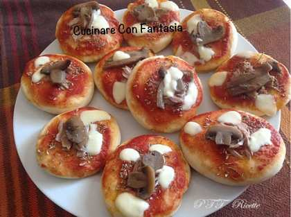 Pizzette da aperitivo