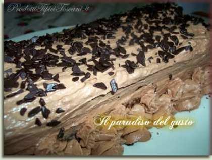 Plum cake alla Nutella con crema di Nutella