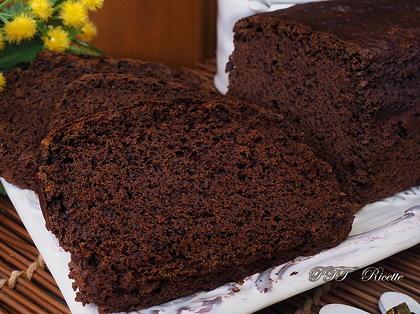 Plumcake al cacao soffice e senza grassi