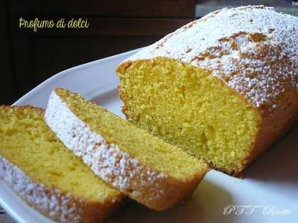 Plumcake al limone e olio d'oliva