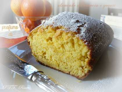 Plumcake all'arancia e yogurt