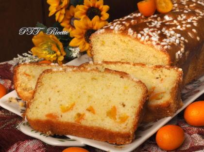 Plumcake con mandarini cinesi kumquat