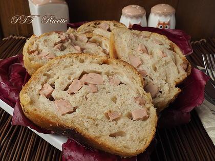 Plumcake con wurstel e provolone (con licoli)