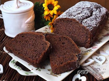 Plumcake senza zucchero al cacao