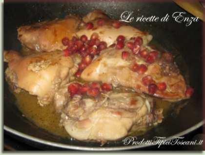 Pollo al melograno