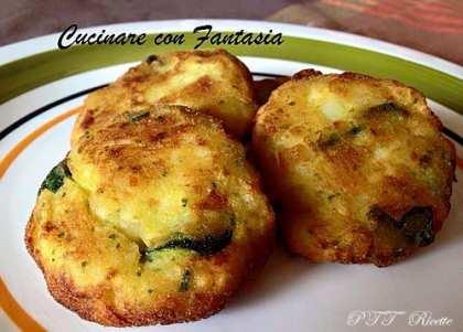 Polpette di broccoli, zucchine e patate