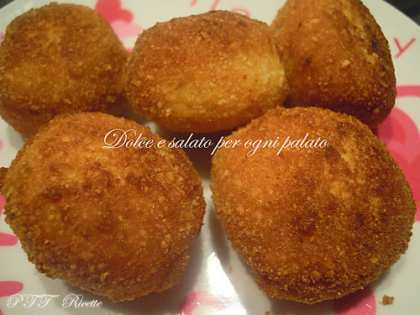 Polpette di patate con Grana