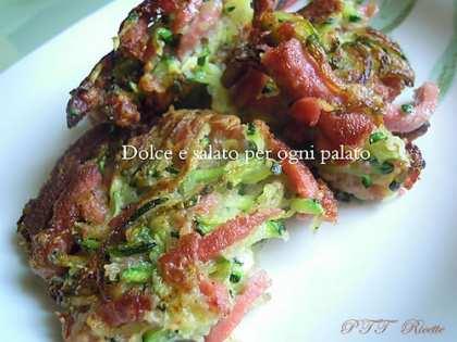 Polpette di zucchine e wurstel