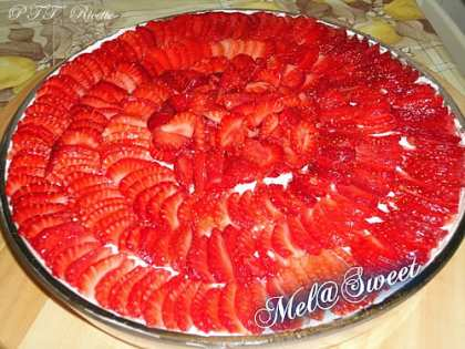 Rapid cheesecake alle fragole