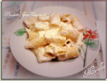 Rigatoni ai 4 formaggi