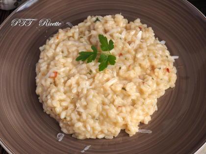 Risotto aglio, olio e peperoncino