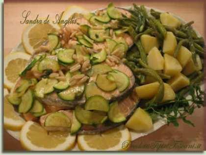 Salmone sapore d'estate