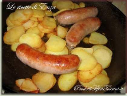 Salsicce e patate