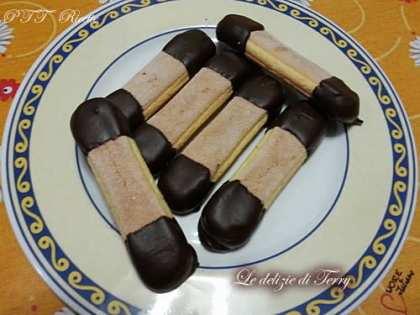 Savoiardi golosi al cioccolato