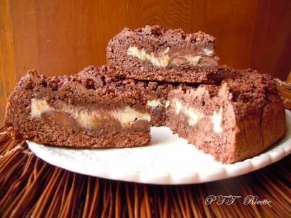 Sbriciolata al cacao ricotta e cioccolato