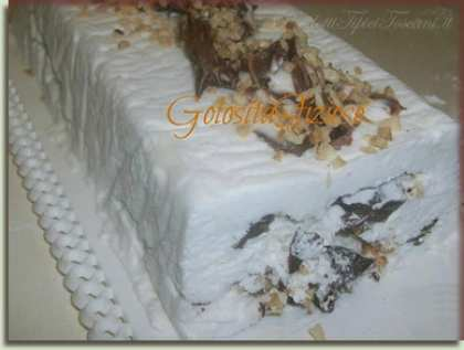 Semifreddo yogurt e Nutella
