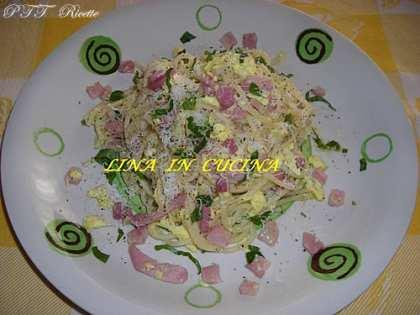Spaghetti alla carbonara rivisitati