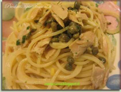 Spaghetti profumati al tonno
