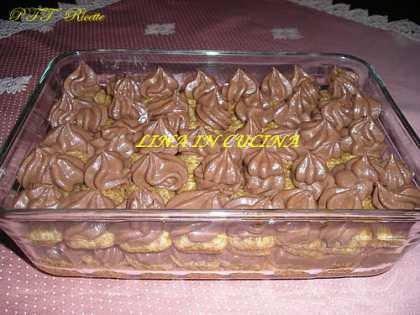 Tiramisù alla Nutella e mascarpone