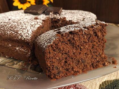 Torta al cacao, cocco e cioccolato senza glutine