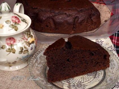 Torta al cacao sofficissima