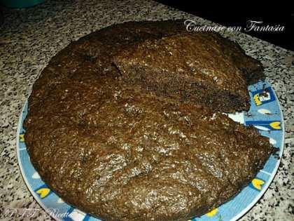 Torta al cioccolato, cocco e cacao