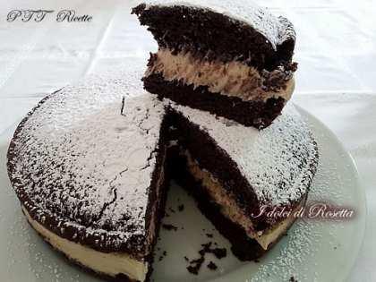 Torta al cioccolato con crema al mascarpone