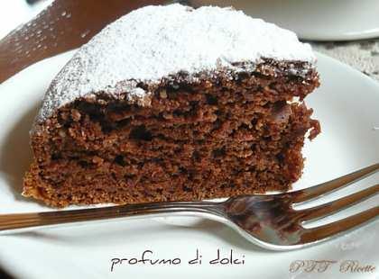 Torta al cioccolato e yogurt greco