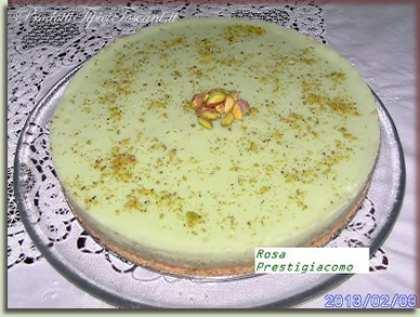 Torta al pistacchio (cheesecake)