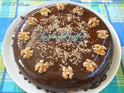 Torta brownie alle noci