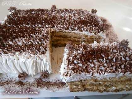 Torta caffellatte