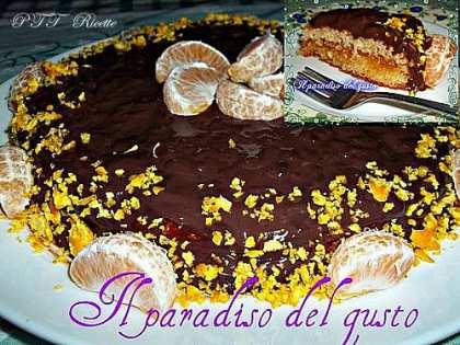 Torta cioccolato e mandarino