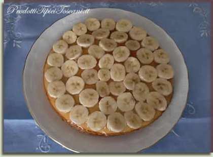 Torta con banane e Nutella