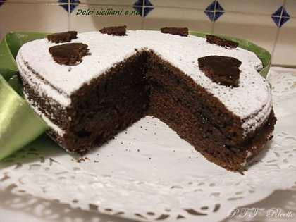 Torta Cuore al cacao