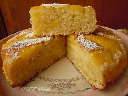 Torta di ananas dietetica