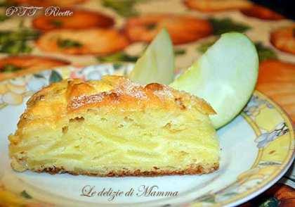 Torta di mele senza burro e senza olio