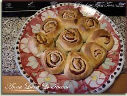 Torta di rose con bresaola