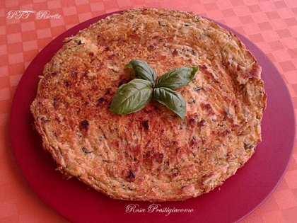 Torta di zucchine con mascarpone