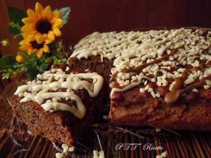 Torta dietetica al cacao con glassa al cacao