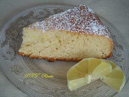 Torta dietetica al limone
