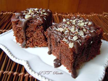 Torta dietetica al Nesquik
