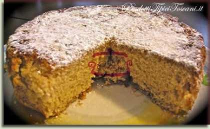 Torta dietetica senza uova e senza burro