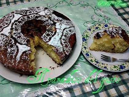 Torta farcita con crema al limone
