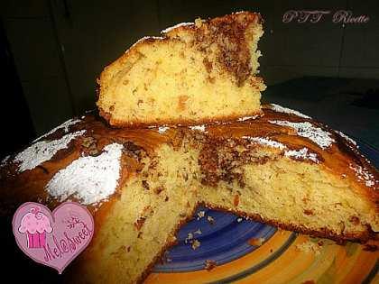 Torta latticello, Nutella e granella di arachidi