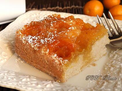 Torta light con mandarini cinesi (kumquat)