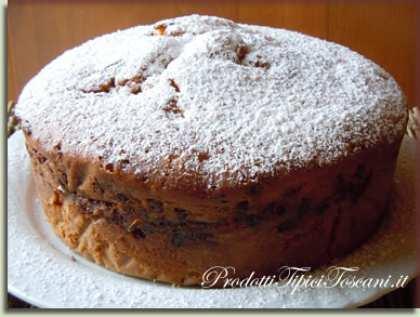 Torta margherita arancia e cioccolato