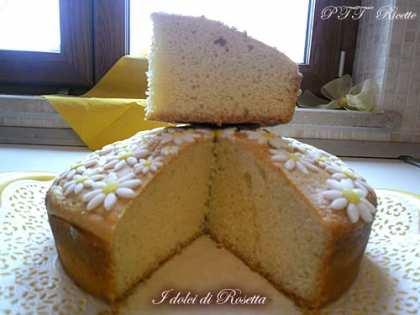 Torta margherita con poco burro e senza olio
