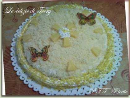 Torta mimosa a modo mio